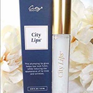 NWT City Lips - Lip Plumper and Gloss